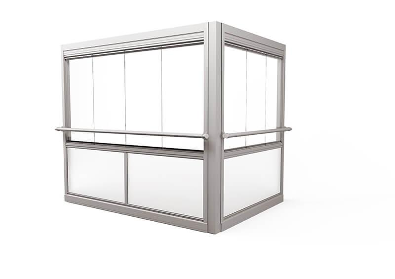 <span>Design Air</span> Grote profielvrije ramen – met leuning