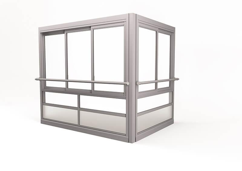 <span>Twin® Air</span> Grote ramen met profielen – met leuning